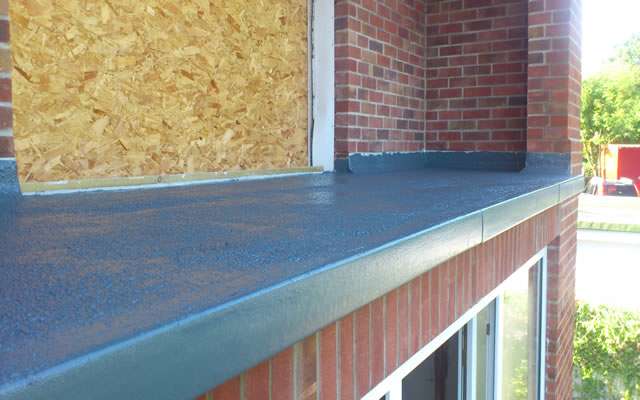 Flat Roof Finishes